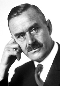 Thomas Mann um 1929; Grafik: Wikimedia Commons