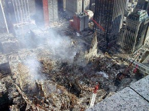 """Ground Zero"" in New York"